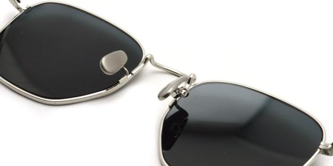 A.D.S.R. / JEFF02 / Silver - Black Lenses /  ¥19,000 + tax