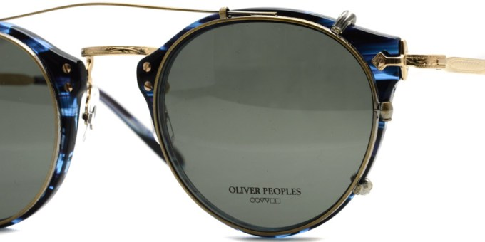 OLIVER PEOPLES /  505 Clip  /  AG-G15  /  ¥12,000 + tax