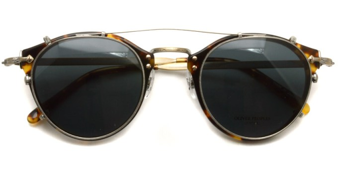 OLIVER PEOPLES / 505 Clip / P-GRY / ¥12,000 + tax