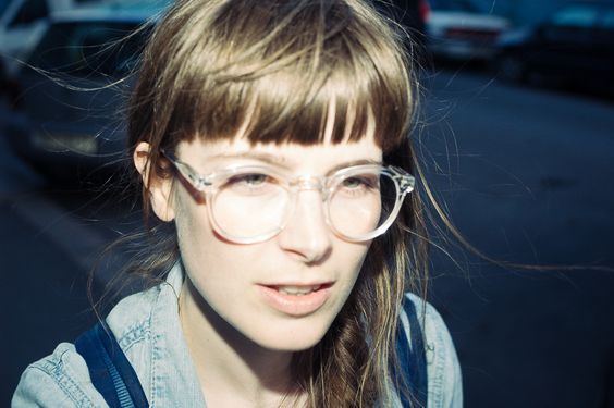female wearing MOSCOT MILTZEN color* Flesh - 1 -