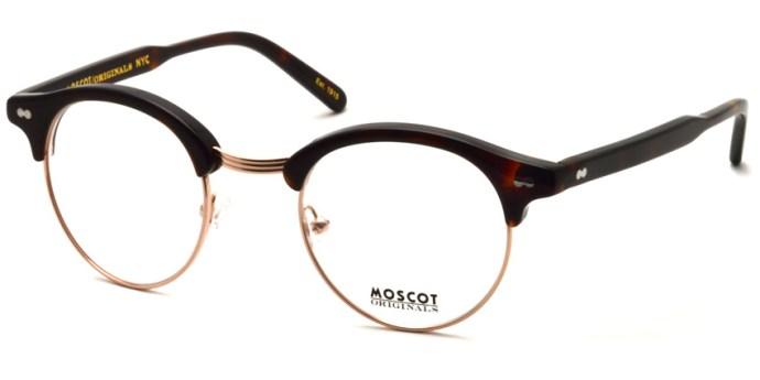 MOSCOT  /  AIDIM /  BURNT TORT - GOLD  /  ¥28,000 + tax