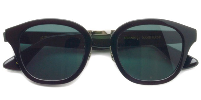 A.D.S.R.  /  DENNIS01  /  SHINY BLACK - SILVER  /  ¥16,000 + tax