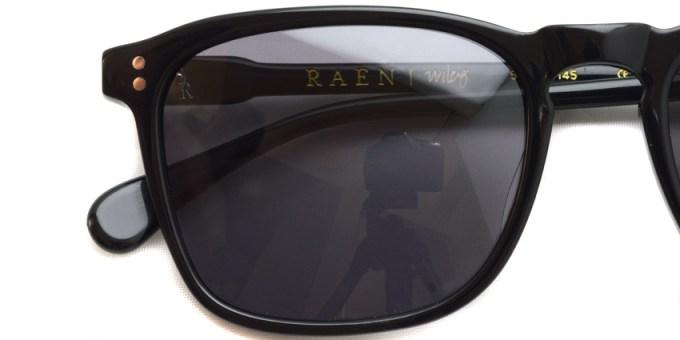 RAEN / WILEY / Black / ¥16,000 + tax
