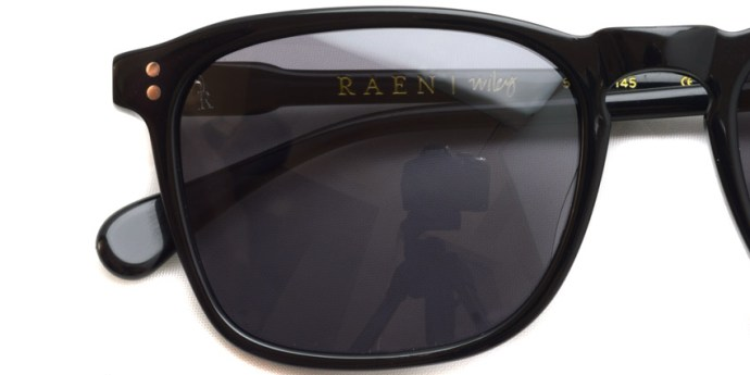 RAEN / WILEY / Black / ¥16,000 + tax