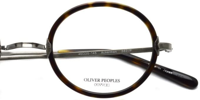 OLIVER PEOPLES / ACKERMAN / 362/P / ¥36,000 + tax