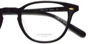 OLIVER PEOPLES / KLIGMAN / BK / ¥30,000 + tax