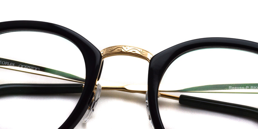 OLIVER PEOPLES / REEVES-P / BKG / ¥30,000 + tax