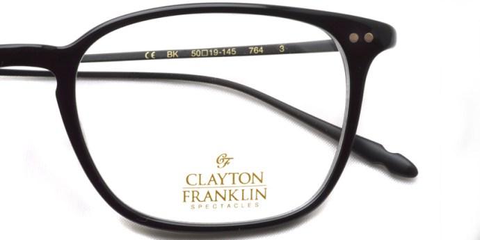 CLAYTON FRANKLIN / 764 / BK / ¥29,000 + tax