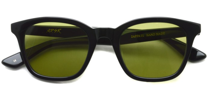 A.D.S.R. / ZAPPA01(a) / Shiny Black - Llght Green Lenses / ¥16,000 + tax