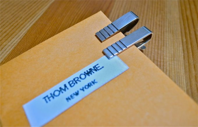 Thom Browne / tie clip