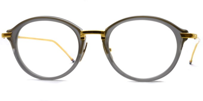 Thom Browne / TB-011 / Satin Crystal Grey - 18K Gold / ¥65,000+tax