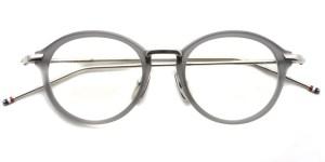 Thom Browne / TB-011 / Satin Crystal Grey - Shiny Silver / ¥65,000+tax