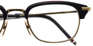 Thom Browne / TB-707 / Matte Black -RWB - Shiny 12K Gold / ¥62,000+tax