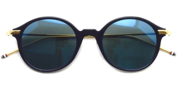 Thom Browne / TB-708 / Navy - 18K Gold w/Dark Grey - Blue MIrror / ¥51,000+tax
