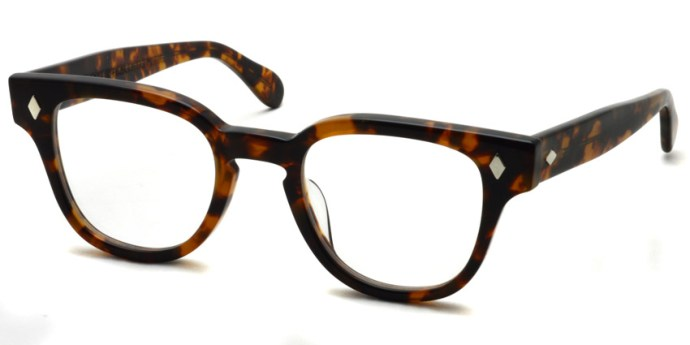 JULIUS TART OPTICAL / BRYAN / TORTOISE / ¥37,000+tax