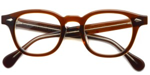 JULIUS TART OPTICAL / AR / Brown Crystal / ¥37,000+tax