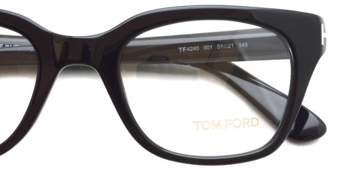 TOMFORD / TF4240 / 001 / ¥40,000 + tax