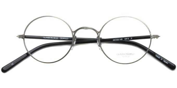 OLIVER PEOPLES / OP-5 / Pewter / ¥29,000 + tax