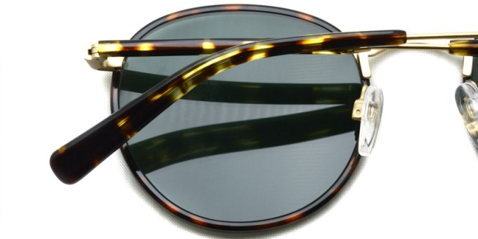 RAEN / MASON / Brindle Tortoise + Japanese Gold (Polar) / ¥24,000 + tax