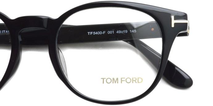 TOMFORD / TF5400F / 001 / ¥49,000+ tax