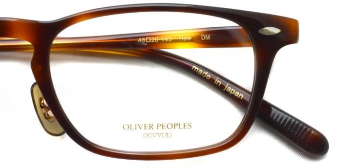 OLIVER PEOPLES / HALE / DM / ¥30,000 + tax