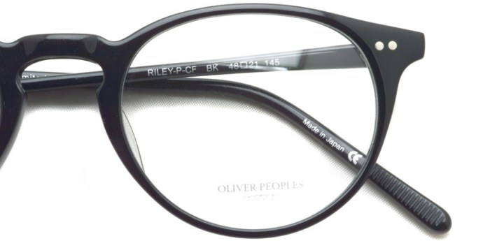OLIVER PEOPLES / RILEY-P-CF / BK / ¥29,000 + tax