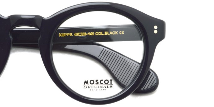 MOSCOT / KEPPE / BLACK / ¥27,000 + tax