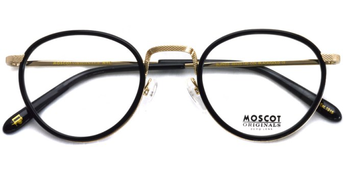 MOSCOT / BUPKES / Black / Gold / ¥28,000 + tax