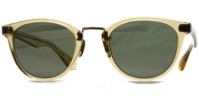 OLIVER PEOPLES / DEARING / YLW - G15 / ¥36,000 + tax