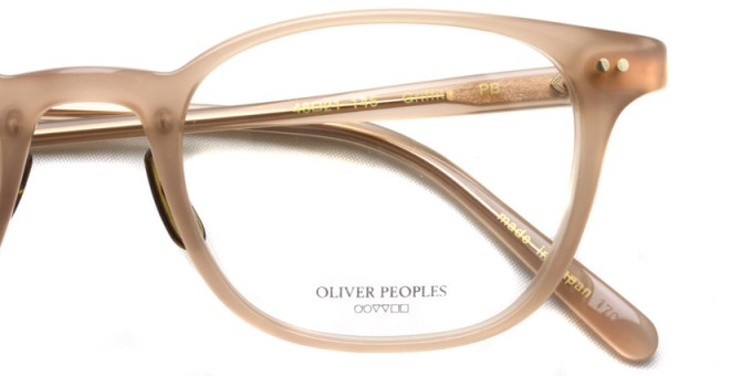 OLIVER PEOPLES / GRIFFITH / PB / ¥35,000