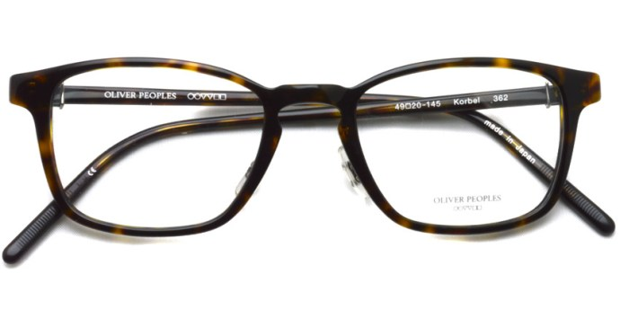 OLIVER PEOPLES / KORBEL / 362 / ¥33,000 + tax