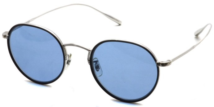 OLIVER PEOPLES / ROSSEN / Silver/Black - Blue / ¥38,000 + tax