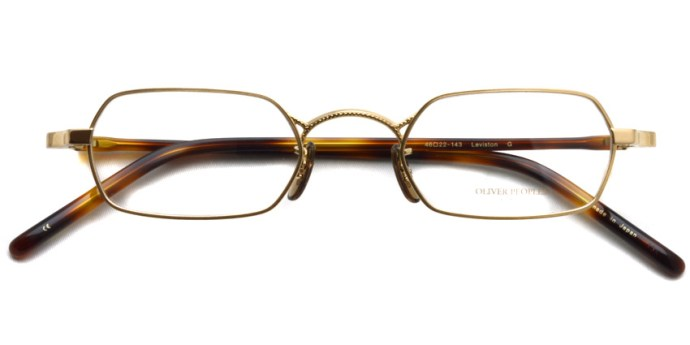 OLIVER PEOPLES / LEVISTON / Gold / ¥33,000 + tax