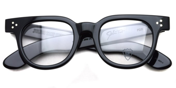 JULIUS TART OPTICAL / FDR / BLACK / ¥37,000+tax