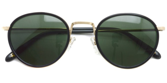 MOSCOT / BUPKES Sun / Black / Gold - G15 / ¥31,000 + tax