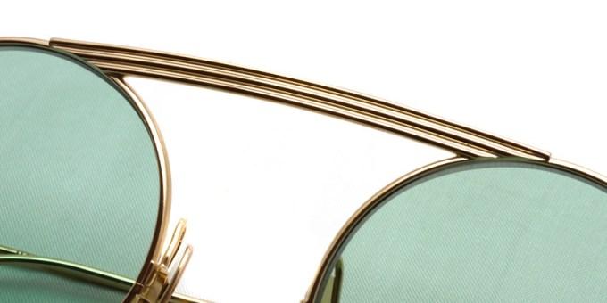 Thom Browne / TB-111 / White Gold - Mint