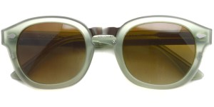 MOSCOT SUN / CONRAD / MAT/GREEN/PEWTER - BROWN (Polar) / ¥39,000 + tax