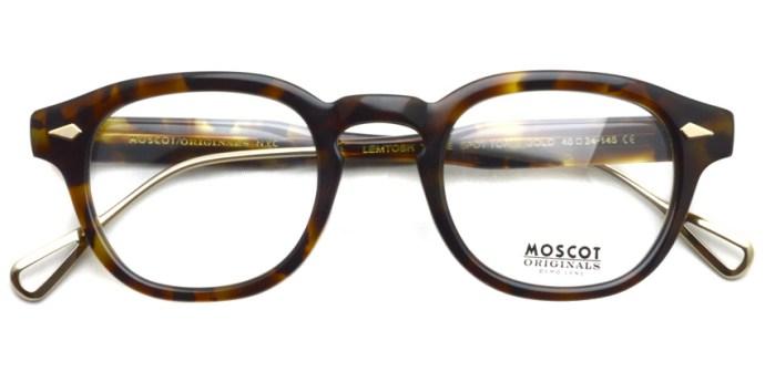 MOSCOT / LEMTOSH TT SE / Spot Tortoise - Gold / ¥39,000 + tax
