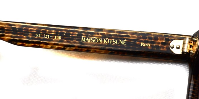 OLIVER PEOPLES x MAISON KITSUNE / PARIS / BB-S.B / ¥32,000 + tax