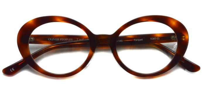 OLIVER PEOPLES THE ROW / PARQUET / TORT-CL / ¥40,000 + tax