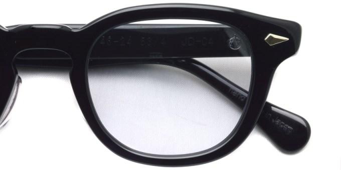 TART OPTICAL ARNEL / JD-04 / 001 BLACK / ¥36,000 + tax