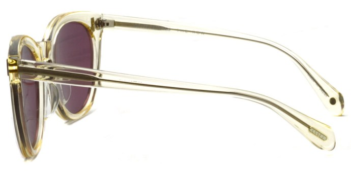 OLIVER PEOPLES THE ROW / SKYSCRAPER / BUFF-PUR / ¥42,000 + tax