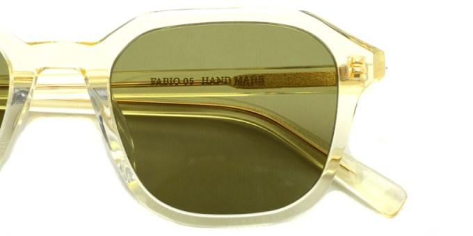 A.D.S.R. / FABIO05 / Clear Yellow /  ¥18,000 + tax