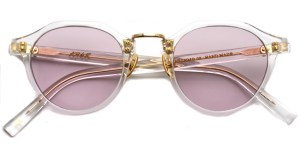 A.D.S.R. / SATCHMO03 (2018.2nd) / Clear - Gold- Light Pink / ¥19,000 + tax