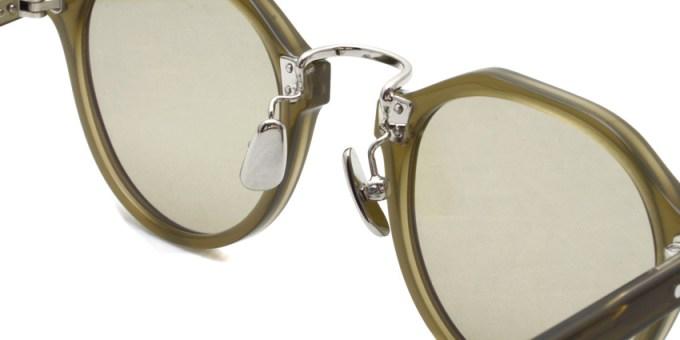 A.D.S.R. / SATCHMO11 / Clear Khaki - Silver- Light Gray / ¥19,000 + tax