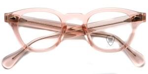 JULIUS TART OPTICAL / AR / Flesh Pink / Bridge : 24mm / ¥37,000+tax