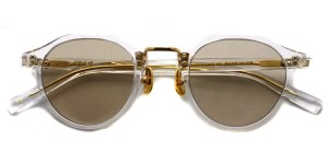 A.D.S.R. / SATCHMO03 (c) / Clear - Gold- Light Brown / ¥19,000 + tax