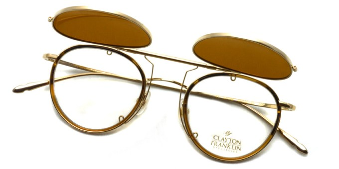 CLAYTON FRANKLIN  /  606 Clip  /  CL-BR Polar  /  ¥14,000 + tax