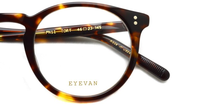EYEVAN / PHIL / TORT / ¥26,000+tax