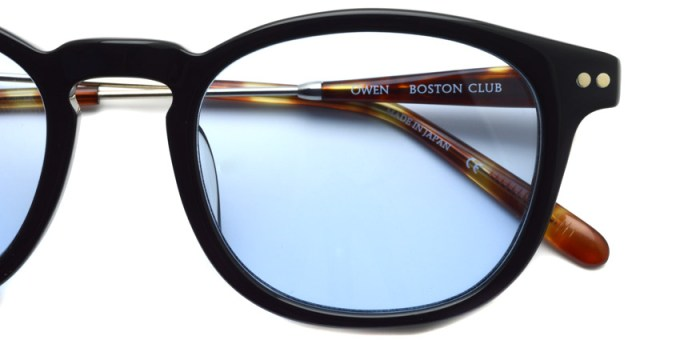 BOSTON CLUB / OWEN01 / Black - Blue / ¥28,000+tax